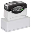 Custom Pre-Inked Stamp  11/16 in. x 1-15/16 in.