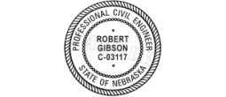 Rubber Stamp Engineer for State of Nebraska Electronic