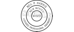 Rubber Stamp Engineer for State of New Mexico Electronic